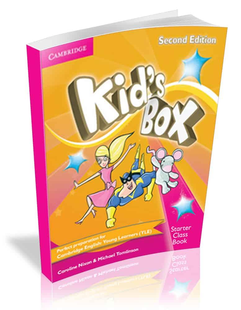 Курсы английского языка для детей 7-8 лет в Самаре построены на учебных пособиях Kids Box 1