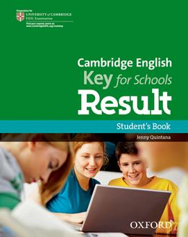 Курсы английского языка для детей 12-13 лет в Самаре построены на учебных пособиях Cambridge English Key for Schools Result Student's Book