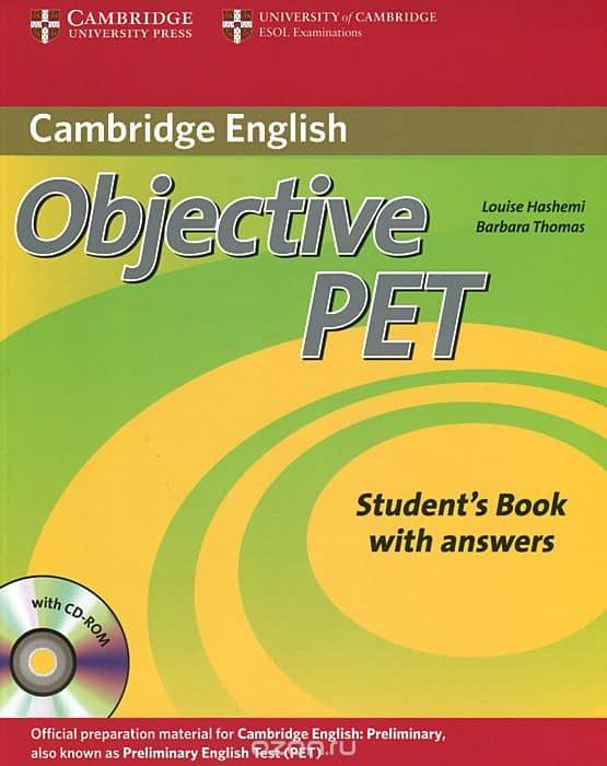 Курсы английского языка для детей 14-15 лет в Самаре построены на учебных пособиях Cambridge Objective РET Student's Book